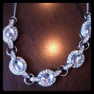 Beautiful 5 stone statement necklace.